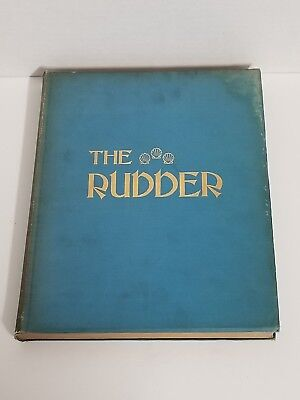 Antique Bound The Rudder Magazine Boat Yacht Sailing Complete 1915 XXI
