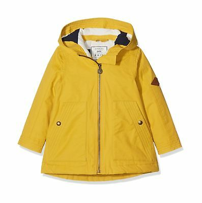 Joules Girl's Waterfall Coat Gold (Antique Gold) 3 Years