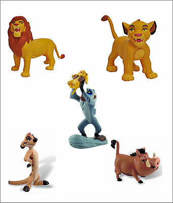 Official Bullyland Disney The Lion King Figures Toy Birthday Cake Topper Toppers