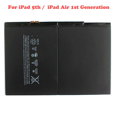 OEM Replacement Battery for iPad 5th Air1 A1474 A1475 A1485 8827mAh