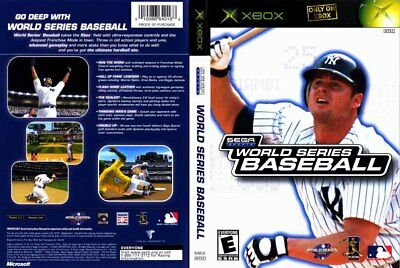 World Series Baseball (Microsoft Xbox, 2002) - Disc Only