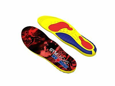 Spenco Ironman Sport Plus Replacement Insoles (Trim to Fit) Yellow/Blue/Red
