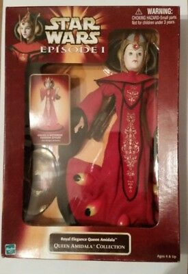 Star Wars Episode 1 Queen Amidala Collection Royal Elegance one NIP figure doll