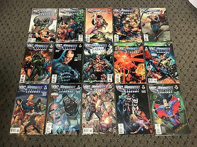 Dc Universe Online Legends (2011) #1-26 Nm- Jim Lee Cover Art