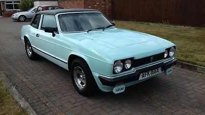 1981 Reliant Scimitar Gtc Manual/overdrive 4 Seat Hard/ Soft Tops 48550 Miles