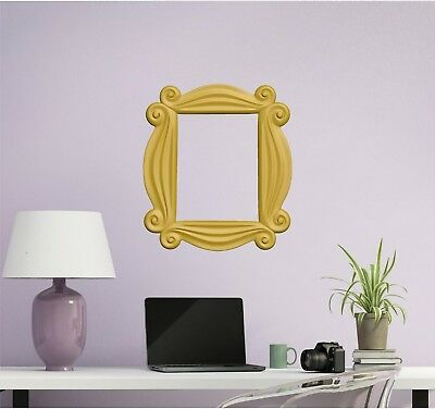 Friends TV Show Peephole Frame Wall Decal Sticker Removable Peel & Stick