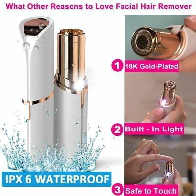 Lipstick Design Facial Finishing Hair Remover Women Touch Flawless Painless