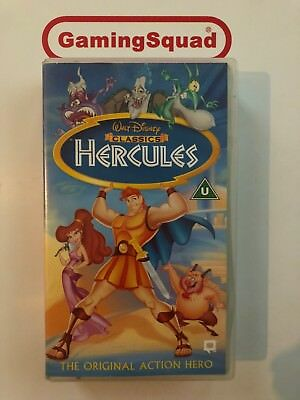 Hercules VHS Video Retro, Supplied by Gaming Squad Ltd