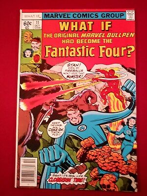 What If? 11 (1978) 9.2 Key  Fantastic Four Bronze Age white pages glosay 1 owner