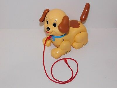 Fisher Price Lil Snoopy Kids Pull Along Puppy Toy