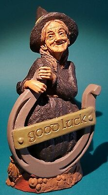 Lucky Lucy by Tom Clark - Good Witches Cairn Studio - Pecan Resin - Lucky Irish
