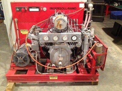 Ingersoll-Rand Ir20Th35 4-Stage Compressor Package - 460 Vac 3 Phase 20 Hp