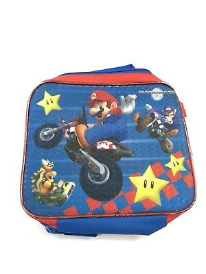 NWOT Nintendo Wii - Super Mario Kart Canvas - Insulated Lunch Box/Lunch Cooler