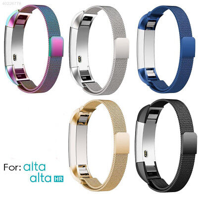 F40D Stainless Steel Replacement Spare Band Strap for Fitbit Alta & Alta HR