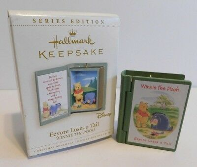 Hallmark Ornament 2006 Eeyore Loses A Tail * Winnie The Pooh #9 * FREE SHIPPING