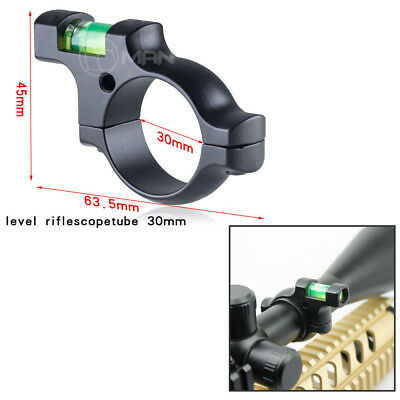 1PC Alloy Thicken 1''/30mm Ring Mount Holder Scope Bubble Spirit Level Laser New