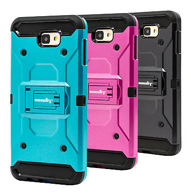 Rugged Shock-Proof Protector Armor Cover Case for Samsung Galaxy J7 Prime 2016