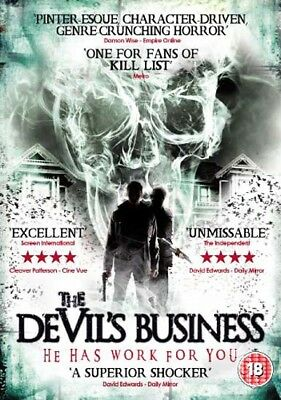 The Devil's Business NEW PAL Cult DVD Sean Hogan Billy Clarke