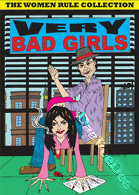Very Bad Girls - Women Rule Collection - 12 Films NEW PAL/NTSC Classic 3-DVD Set