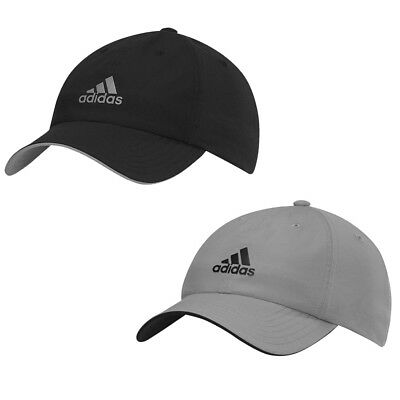 Adidas Mens Sports Peak Cap Baseball Hat 3 Stripes Logo Adjustable Golf Running
