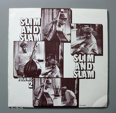 Slim Gaillard & Slam Stewart - Slim & Slam Volume 2. Recordings 1938-40 TAX Lp