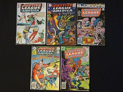 DC Comics Justice League of America Lot of 5