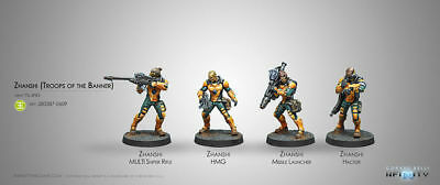 Infinity Yu Jing Zhanshi Troops of the Banner COR280387