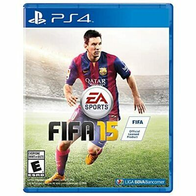 FIFA 15 For PlayStation 4 PS4 Soccer Very Good 8E