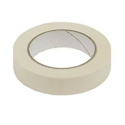 "HOLDFAST PAINTING MASKING TAPE 72 ROLLS x 25mm 1"" 50M LENGTH LOW TACK HOME DIY"