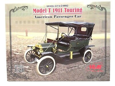 ICM Model T 1911 Touring,Ford Motor Company, Bausatz, Kit, 1:24 scale ,116 Teile