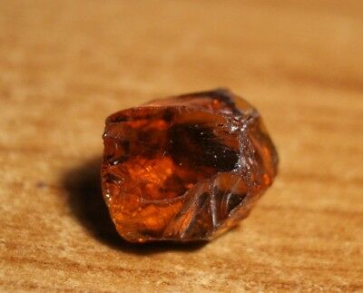 17ct Madeira Citrine Crystal Point - Flawless Lapidary / Specimen Rough