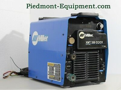 Miller XMT 350 CC/CV Welder Load Bank Tested And Ready To Work.