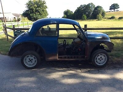 MORRIS MINOR HOTROD RATROD PROJECT 1600cc CVH 5 SPEED GEARBOX RUNNIG AND DRIVING