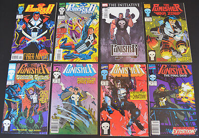 PUNISHER (8-Book) Marvel LOT #8 51 53 SUMMER SPECIAL #1 WAR ZONE #2 2099 7 12 NM