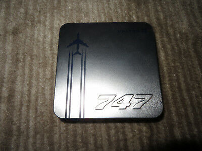 "UNITED AIRLINES Business Class PS Silver ""Celebrating the 747"" AMENITY KIT"