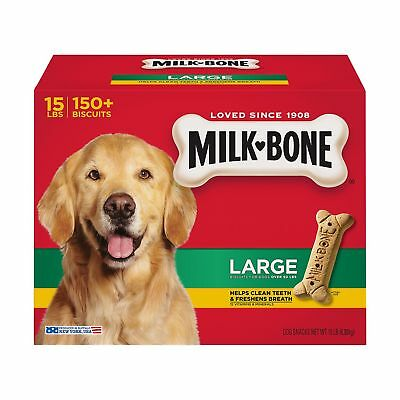 Milk Bone Dog Biscuits Large 15 Lbs Snacks *** OMG ***