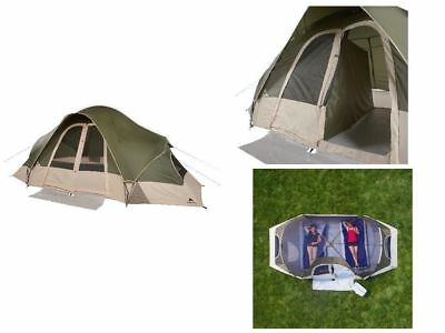 OZARK TRAIL 8 Person Family Cabin Dome Tent 2 Room Outdoor Camping Easy  Setup