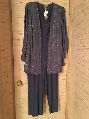 Catherines 3X Evening/Formal Wear Pantsuit.....Free Shipping