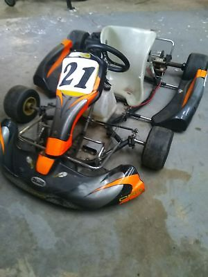 go kart with yamaha 100s engine and electric starter