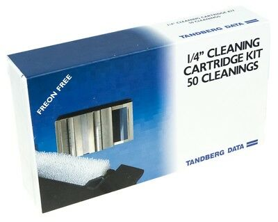 Tandberg 8962 Cleaning Kit 50 Cleanings 1/4'' Qic Tape Drive