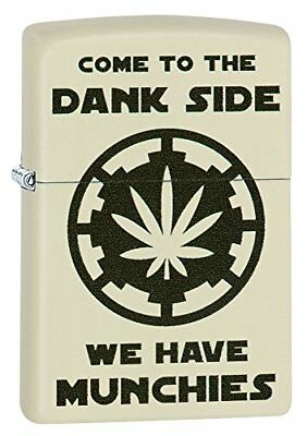 Come To The Dank Side ,cream Matte Windproof Lighter