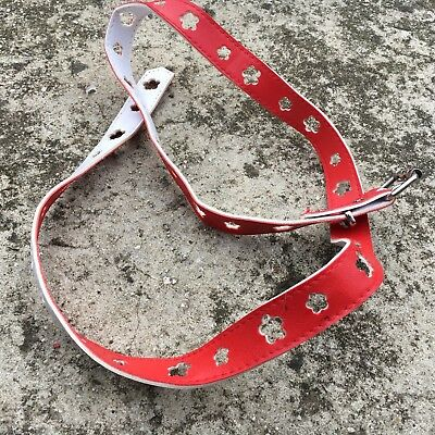 "DAISY FLOWERS ""Scarlet Red"" Sweet Girls Waist Belt Children's Accessory (85cm)"
