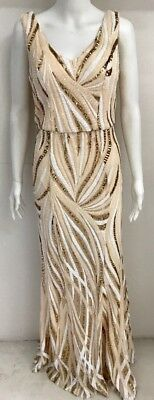 Sequins Shine Gown Size 14 Ball Wedding Award Launching Party Engagement Formal