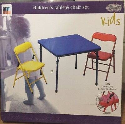 NEW RTH Children's Table and Chair Set..