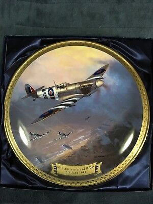 The Bradford Exchange Spitfire Limited edition Commemorative Plate