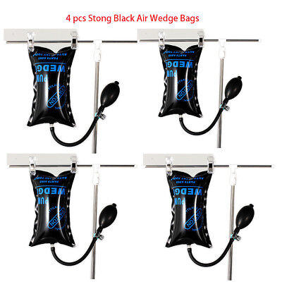 4X Car Air Inflatable Bag Pump Wedge Shim Entry Open Tools Dent For Door Window