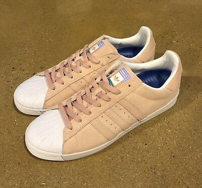 Details about NEW MEN'S ADIDAS SUPERSTAR VULC ADV SKATE SHOES PASTEL BLUE PINK YELLOW