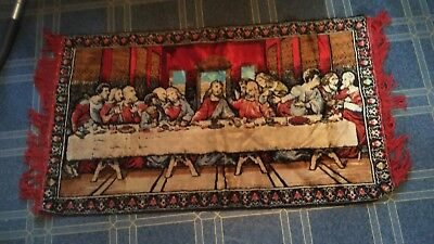 DA VINCI LAST SUPPER TAPESTRY WALL HANGING The Last Supper 105x61cm