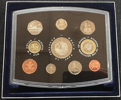 2000 United Kingdom Executive Coins of the Millenium 10 Coin Proof Collection