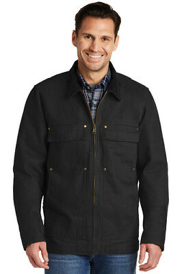 CornerStone® Washed Duck Cloth Chore Coat Work Jacket CSJ50 SM - 4X